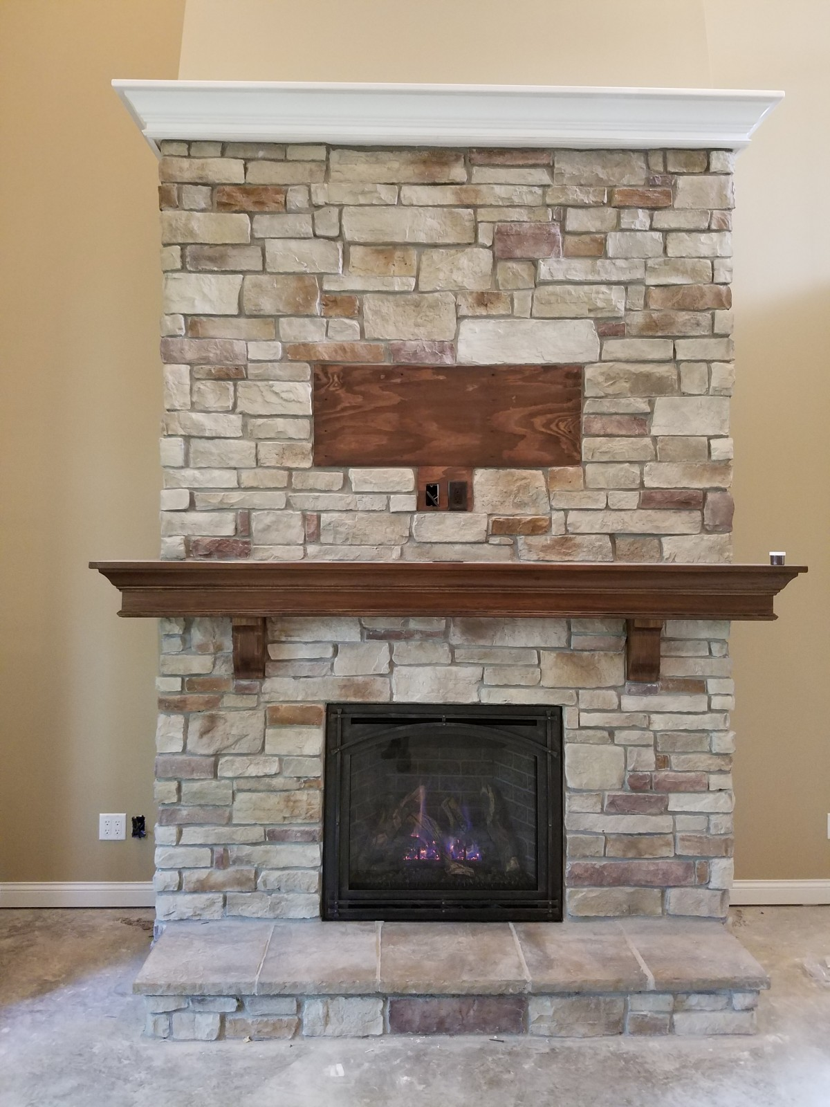 Fireplace Projects Image Gallery
